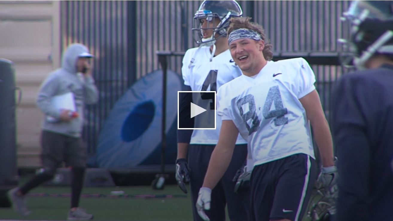 Tucker Melcher overcomes near death experience to play Wolf Pack football
