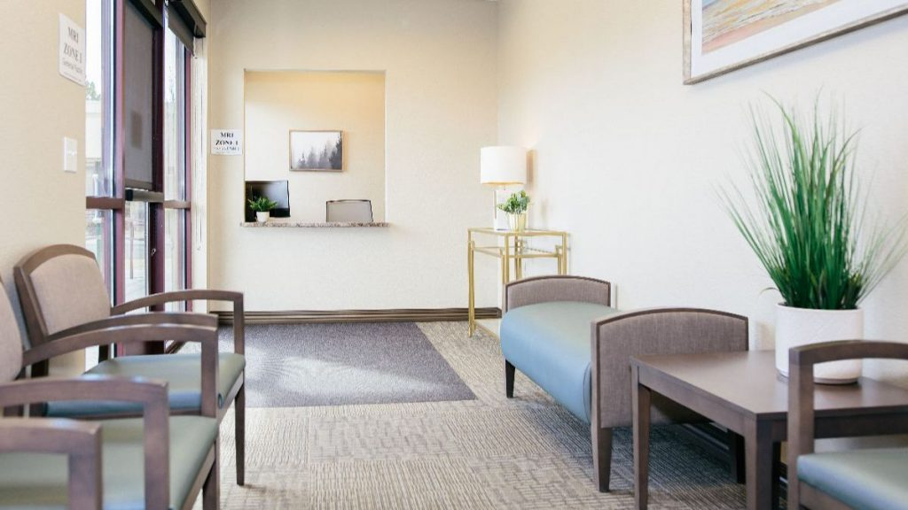 Sierra Neurosurgery New Outpatient Imaging Center waiting room