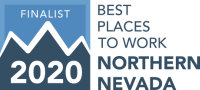 Best Places to work Northern Nevada 2020 Finalist Logo