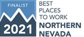 Best Places to work Northern Nevada 2020 Finalist Logo